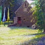 Ty Hodanish Gallery At Prallsville Mill Art Print