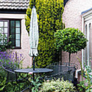Garden Furniture Art Print