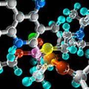 Generic Molecule Art Print