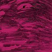 Gentle Giant In Hot Pink Art Print
