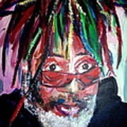 George Clinton Art Print