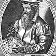 Gerardus Mercator, Flemish Cartographer Art Print