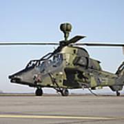 German Tiger Eurocopter At Fritzlar Art Print