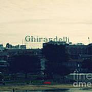 Ghirardelli Square Art Print