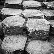 Giants Causeway Stones Northern Ireland Art Print