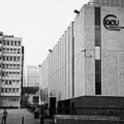 Glasgow Caledonian University Campus Scotland Uk Art Print