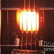 Glowing Filament 4 Of 4 Art Print