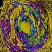 God's Fingerprint - Uranium Art Print by Colleen Cannon