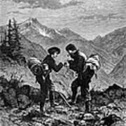 Gold Prospectors, 1876 Art Print