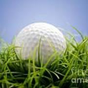 Golfball Art Print