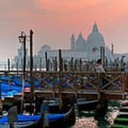 Gondole. Venezia. Art Print