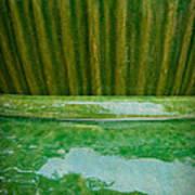Green Pottery Art Print