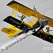 Grumman Ag 164 Wingwalker Art Print by Conny Sjostrom