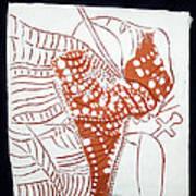 Guardian Angel - Tile Art Print