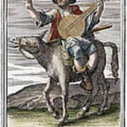 Guitar, 1723 Art Print