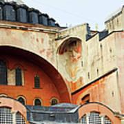 Hagia Sophia Byzantine Architecture Art Print