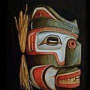 Haida Mask Art Print