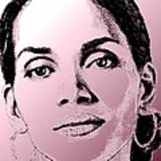 Halle Berry In 2008 Art Print