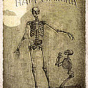 Happy Halloween Art Print by Jeff Burgess