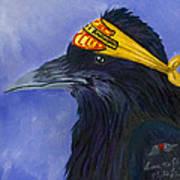 Harley Ravenson Art Print by Amy Reisland-Speer