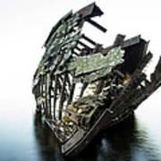 Harvey Neelon Shipwreck So They Say... Art Print