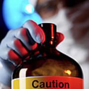 Hazardous Chemical Art Print