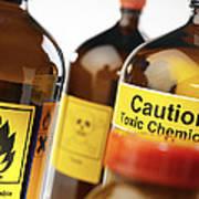 Hazardous Chemicals Art Print
