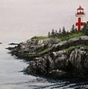 Head Harbour Lighthouse Art Print