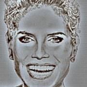 Heidi Klum In 2010 Art Print