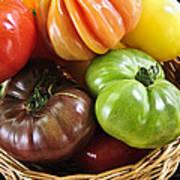 Heirloom Tomatoes Art Print by Elena Elisseeva