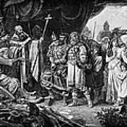 Henry I (876-936) Art Print