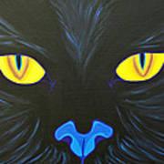Here Kitty Art Print