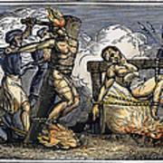 Heresy: Torture, C1550 Art Print by Granger