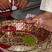 Hindu Wedding Ceremony Art Print