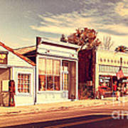 Historic Niles District In California Near Fremont . Main Street . Niles Boulevard . 7d10676 Art Print by Wingsdomain Art and Photography