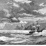 Hms Challenger, 1872-76 Art Print