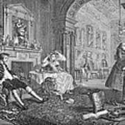 Hogarth: Marriage Art Print