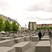 Holocaust Memorial - Berlin Art Print