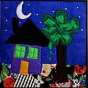 Home Art Print by Ghazel Rashid