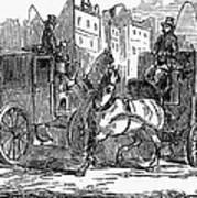 Horse Carriage, 1853 Art Print