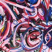 Hot Pink Art Print by Wes Thomason