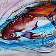 Hurricane Fish 28 Art Print