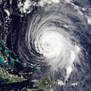 Hurricane Isabel Art Print