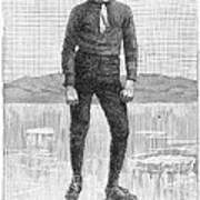 Ice Skater, 1880 Art Print