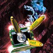 Internet Business Art Print
