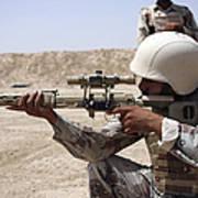 Iraqi Army Sergeant Sights Art Print