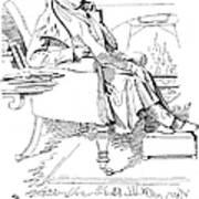 Isaac Disraeli (1766-1848) Art Print