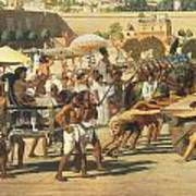 Israel In Egypt Art Print by Sir Edward John Poynter