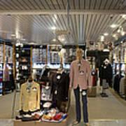 Italian Fashion Shop For Men Tallinn Art Print