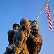 Iwo Jima Memorial Art Print